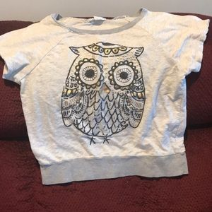 Forever 21 owl sweater top